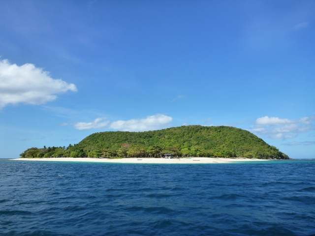 tear drop island